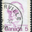 Postage stamps printed in Canada, shows a Richard Bedford Bennett, circa 1972 — Stock Photo
