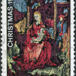 "A stamp printed in Australia, shows a painting ""Madonna and Child"", by William Beasley, circa 1970 — Stock Photo #12163231"