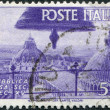 A stamp printed in Italy, shows a View of Cathedral Domes, Pisa, circa 1946 — Lizenzfreies Foto