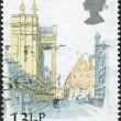 Postage stamps, illustration — Stock Photo #12213861