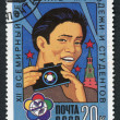 Postage stamps, illustration — Stock Photo #12213026