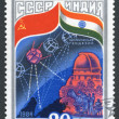 Stock Photo: Postage stamps, illustration