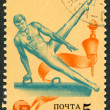 Postage stamps, illustration — Stock Photo #12213278