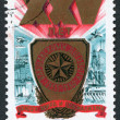 Postage stamps, illustration — Stock Photo #12213351