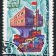 Postage stamps, illustration — Stock Photo #12213369