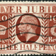 Postage stamps, illustration — Foto Stock