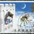 Postage stamps, illustration — Stock Photo #12213903