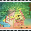 Postage stamps, illustration — 图库照片