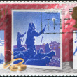 Postage stamps, illustration — Stock Photo #12213994