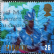 Postage stamps, illustration — Stock Photo #12214037