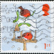 Royalty-Free Stock Photo: Postage stamps, illustration