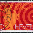 Постер, плакат: Shows the face value of stamps