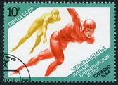 Ilustración de los sellos postales — Foto de Stock
