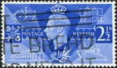 Posta pulları, illüstrasyon — Stok fotoğraf