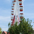 Ferris wheel - Stock Photo