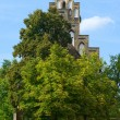 Stock Photo: Village Protestant Church in Berlin. District Alt-Marzahn.