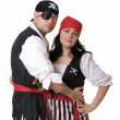 Two pirates — Stock Photo