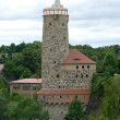 Stock Photo: Old Waterworks and Church of St. Michael. Bautzen. Saxony. Germany