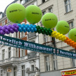 "BERLIN - JUNE 16: Main Stage festival, ""Christopher Street Day"", June 16, 2012 Berlin, Germany — Foto de Stock"