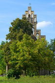 Village Protestant Church in Berlin. District Alt-Marzahn. — Stock Photo