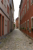 The street of the old town. Bautzen. Saxony. Germany — Stock Photo