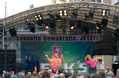 берлин - 16 июня: главная сцена фестиваля «день кристофер-стрит», июнь 16, 2012 берлин, германия — Стоковое фото