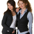 Beautiful business womans — Stock Photo