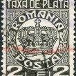 ROMANIA - CIRCA 1931: A stamp printed in the Romania, Postage Due Stamps — Foto de Stock
