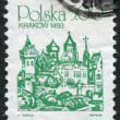 POLAND - CIRCA 1980: A stamp printed in the Poland - Stock Photo