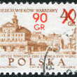 Stock Photo: POLAND - CIRC1965: stamp printed in Poland, dedicated to 700th anniversary of Warsaw