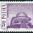 POLAND - CIRCA 1966: A stamp printed in the Poland — Stock Photo