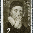 ROMANIA - CIRCA 1958: A stamp printed in the Romania, shows John Amos Comenius, circa 1958 — Stock Photo