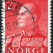 NORWAY - CIRCA 1959: A stamp printed in the Norway — Stock Photo