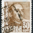 SPAIN-CIRCA 1939: A stamp printed in the Spain — Stockfoto