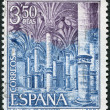 SPAIN - CIRCA 1970: A stamp printed in Spain - Stock Photo
