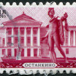 Stock Photo: RUSSIAN-CIRC2003: stamp printed in RussiFederation