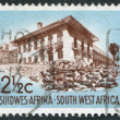 Stock Photo: SOUTH AFRICA-CIRC1960: stamp printed in South Africa