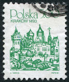 POLAND - CIRCA 1980: A stamp printed in the Poland — Stock Photo