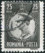 ROMANIA - CIRCA 1930: A stamp printed in the Romania, shows the King of Romania, Carol II, circa 1930 — Stock Photo