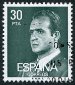SPAIN-CIRCA 1981: A stamp printed in the Spain — Stockfoto
