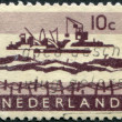 NETHERLANDS - CIRC1963: stamp printed in Netherlands — Stock Photo #12427749