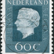 NETHERLANDS - CIRCA 1972: A stamp printed in the Netherlands, shows Juliana of the Netherlands, circa 1972 — Stock Photo