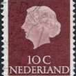 NETHERLANDS - CIRCA 1953: A stamp printed in the Netherlands — Stock Photo