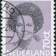 NETHERLANDS - CIRCA 1982: A stamp printed in the Netherlands, shows Beatrix of the Netherlands, circa 1982 — Stock Photo