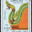 LAOS-CIRCA 1984: A stamp printed in the Laos - Stock Photo