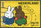NETHERLANDS - CIRCA 2005: A stamp printed in the Netherlands — ストック写真