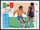 LAOS-CIRCA 1985: A stamp printed in the Laos — Stock Photo