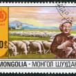 Stock Photo: MONGOLIA-CIRC1981: stamp printed in Mongolia