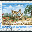 Stock Photo: MONGOLIA-CIRC1983: stamp printed in Mongolia