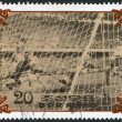 NORTH KOREA - CIRCA 1985: A stamp printed in North Korea, shows the final World Cup 1958, Brazil - Sweden, circa 1985 — Stock Photo #12465739